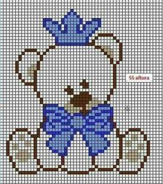 quilting like crazy Cross Stitch For Kids, Cross Stitch Heart, Cross Stitch Animals, Pixel Crochet Blanket, Crochet Chart, Filet Crochet, Crochet Baby, Cross Stitch Designs, Cross Stitch Patterns
