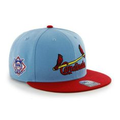 MLB St. Louis Cardinals Men s  47 Brand Big Shot Cooperstown Snapback Cap  (Columbia cf8e059220c