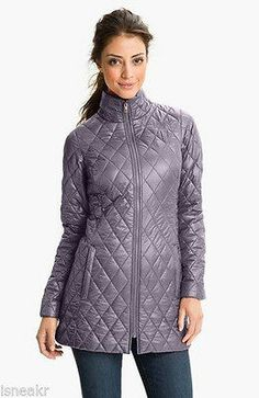 NWT Women's The North Face 'Tatiana' Insulated Jacket Outerwear Greystone M