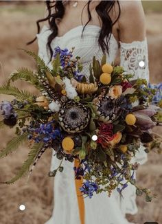 Brides want to find themselves having the perfect wedding ceremony, however for this they require the ideal wedding outfit, with the bridesmaid's dresses enhancing the wedding brides dress. These are a few tips on wedding dresses. Boho Wedding Bouquet, Bride Bouquets, Floral Wedding, Fall Wedding, Wedding Colors, Wedding Ceremony, Wedding Dresses, Wedding Table, Bohemian Wedding Flowers