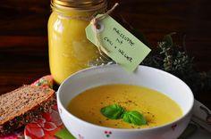 Geniale Maissuppe Chili Sauce, Minion, Fondue, Cantaloupe, Cheese, Fruit, Ethnic Recipes, Thai Noodles, Minions