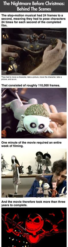 Facts you didn't know about The Nightmare Before Christmas…
