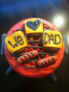 Cute father's day cake