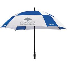 "60"" Slazenger™ Cube Golf Umbrella - three colors available"