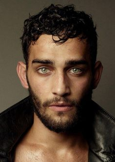 Cristian Condrin from Germany - he's melting me with his green eyes. #male_model