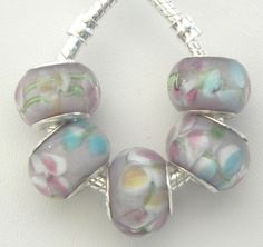 Ten Spring Flowers Euro Beads. Starting at $5 on Tophatter.com!Euro Bracelet Supplies No.58 March 7, 8pm EST