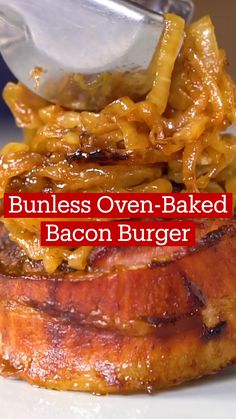 Ground Beef Recipes, Pork Recipes, Cooking Recipes, Healthy Recipes, Oven Baked Bacon, Oven Baked Burgers, Comida Diy, Beef Dishes, Junk Food