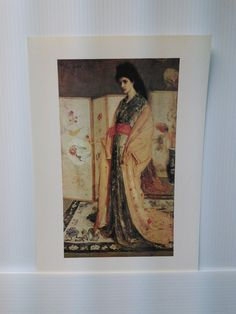 Rose and  Silver  by James McNeill Whistler