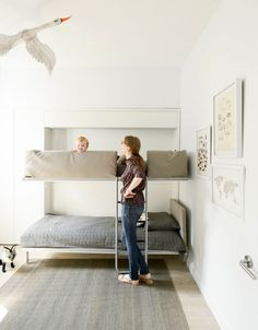 maximize a small space White Kid's room