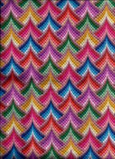 Broderie Bargello, Bargello Needlepoint, Bargello Quilts, Needlepoint Stitches, Hardanger Embroidery, Ribbon Embroidery, Cross Stitch Embroidery, Embroidery Patterns, Bargello Patterns