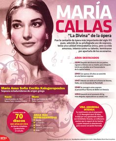 Con la #Infographic recordamos a la cantante de ópera más importante del siglo XX, María Callas. Spanish Class, Spanish Lessons, Teaching Spanish, Maria Callas, Rock And Roll, Teaching Social Studies, Spanish Language, Women In History, Classical Music