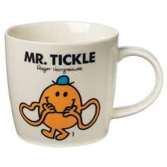 Mr Tickle Mug £8.00   Past Times  [Mr. Men, Little Miss, Roger Hargreaves]