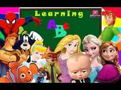 Check out the new video on my channel! Learning Alphabet with Superheroes ★  English Rhymes For Kids  https://youtube.com/watch?v=NkMU0mEp4Rc