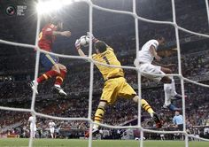 Euro 2012 Semi Final: Spain - Portugal. He is seriously an amazing goalie. The best one ever.