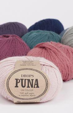 DROPS Puna ist ein wunderschönes weiches und leichtes Garn aus 100% reinem Alpaka superfine, das sich für jede Art von Kleidung eignet. Puna kann sogar direkt...
