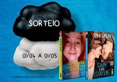 ALEGRIA DE VIVER E AMAR O QUE É BOM!!: [DIVULGAÇÃO DE SORTEIOS] - Conversa de Livro: Prom...
