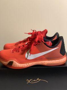 e90e5d7624fa1d Nike Kobe 10 Majors University Red Men s Basketball Shoes Size 12 US   fashion  clothing