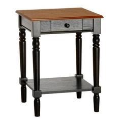 Found it at Wayfair - French Country End Table http://www.wayfair.com/daily-sales/p/Down-Home-Den%3A-Cozy-Country-Updates-French-Country-End-Table~CVC1010~E22070.html?refid=SBP.ERkQrGOV51AbQPebAhpgCVPEShtRXE9LhavrykM7gnU