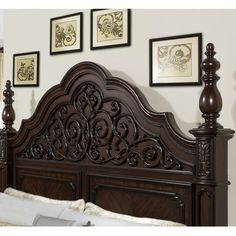 Barb, this is a beautiful headboard. Bring an eclectic touch of style to your home with this eye-catching design, artfully crafted for lasting appeal. Product: Head...