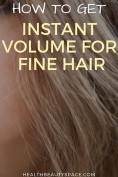If you have fine hair then discover here the way to get instant hair volume how to get your weight loss: shorturl.at/egqBU Thin Hair Haircuts, Bob Hairstyles For Fine Hair, Easy Hairstyles, Curling Fine Hair, Curling Iron, Fine Hair Tips, Medium Fine Hair, Beckham Hair, Hair Extensions For Short Hair