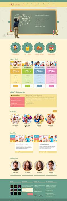 #Kids Zone is a beautifully designed #Wordpress Theme for kinder gardens, Day care, preschool and it would suit for any #children, art, craft, school & Training Website.Theme Supports Popular Plugins like WPML, Woo-commerce, Event Calendar Pro and Community/Forum (Buddy Press, bb Press), Contact form 7.