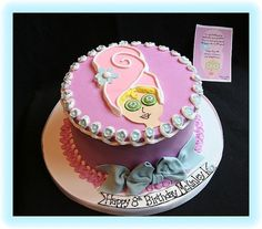 Spa Party Cake    Spa Parties/Pamper Parties are a definite trend!  Who DOESN'T like to be pampered while spending time with friends?      Now that's a cute cake!  Combine that with some GREAT party decorations (girl's night out theme...bridal shower theme....whatever you're celebrating) ,some great cocktails, party favors, some pampering and invite us....now THAT'S a party!