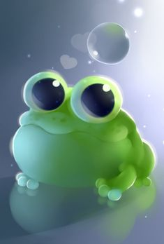 apple frog by Apofiss (print image)