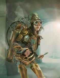 STEAMPUNK de Tom Krieger