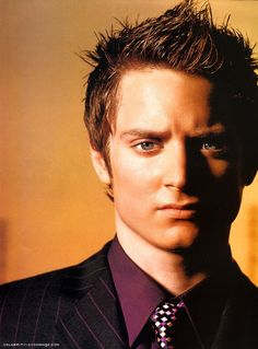 Elijah Wood Because of his amazing performance as Frodo Baggins. Elijah Wood, Frodo Baggins, Interesting Faces, Best Actress, Attractive Men, Good Looking Men, Male Beauty, Celebrity Crush, Comedians