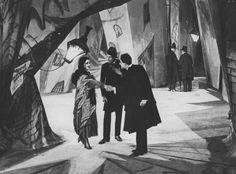 Friedrich Feher, Lil Dagover and Hans H. von Twardowski in Das Cabinet des Dr. Caligari directed by Robert Wiene, 1920