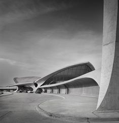 :: Ezra Stoller, TWA Terminal at Idlewild (now JFK) Airport, Eero Saarinen, New York, NY ::