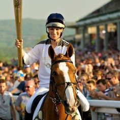 A family affair: Twelfth in line for the throne, the Queen's granddaughter, Zara Phillips, has royal blood of the Windsor sort running through her veins but also equestrian royal blood. She's been named to the 2012 London Olympic Eventing Team with her horse, High Kingdom! How fitting!!