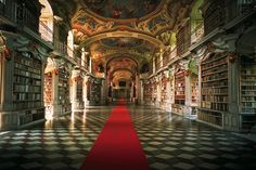 Admont Monastery and its art treasures lie in the very heart of Austria, almost at equal distance from Vienna, Salzburg and Graz. Visit and discover the largest monastery library in the world © Österreich Werbung/ Trumler #feelaustria