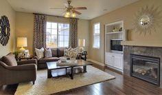 pretty brown decor | brown couch color scheme