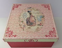 A vintage box, more details on my blog, just click on the image.