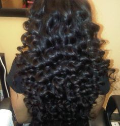 These are the best looking curls I've ever seen!!