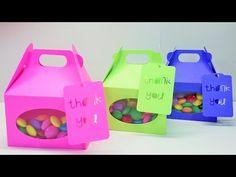 DIY| Como fazer caixas coloridas (especial de festas) - YouTube