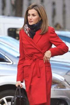 Queen Letizia of Spain attends a meeting at the AECC (Spanish Association Against Cancer) on January 19, 2015 in Madrid, Spain.