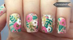 Floral Antique Nails Tutorial