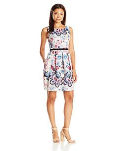 Adrianna Papell Women's Moving Floral Printed Faille Fit ... https://www.amazon.com/dp/B01HBZG97E/ref=cm_sw_r_pi_dp_x_psJOxbX7N0HXA