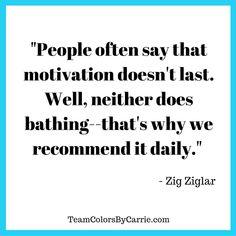 Zig Ziglar on #Motivation