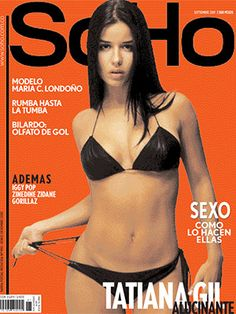 SoHo Magazine Colombia: Edicion 21 [2001] - Tatiana Gil