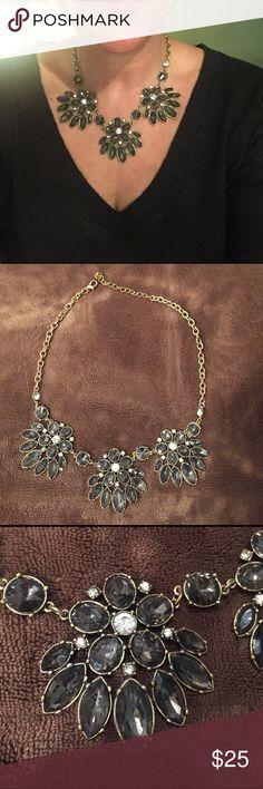 Sparkly gem necklace Nice statement piece j crew Jewelry Necklaces
