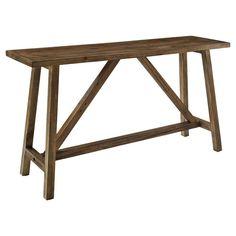 Rustic Console Tables, Sofa End Tables, Entryway Tables, Walmart Home Decor, Rustic Room, Furniture Deals, Diy Furniture, Building Furniture, Modern Rustic