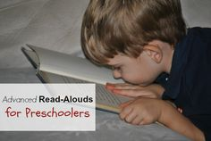 Advanced Read-Aloud for Preschoolers | www.beyondthecoverblog.com