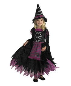 Take a look at this Black & Purple Fairytale Witch Dress-Up Set - Girls by Disguise on #zulily today!