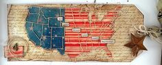 Suzz's Stamping Spot, Tim Holtz, Sizzix, IMpression Obsession, America the Beautiful, Flag, United States, Tag