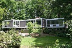 Hollin Hills mid-century modern home designed by architect Charles Goodman