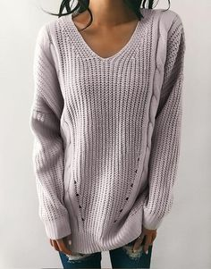 Kiesla Knit-Back Sweater