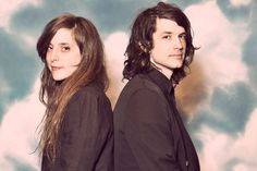"""Victoria Legrand and Alex Scally BETTER KNOWN AS THE BAND """"BEACH HOUSE"""" TRULY ONE OF THE GREAT MUSICAL ACTS OF THE PAST 20 YEARS."""